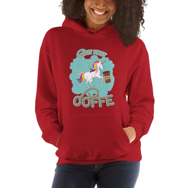 Its Coffee Time065 Hooded Sweatshirt