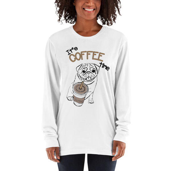 Its Coffee Time058 Long sleeve t-shirt