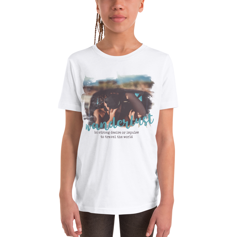 Wanderlust117 Youth Short Sleeve T-Shirt