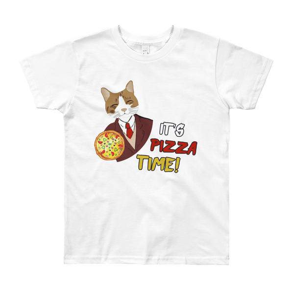 It's Pizza Time01 Youth Short Sleeve T-Shirt