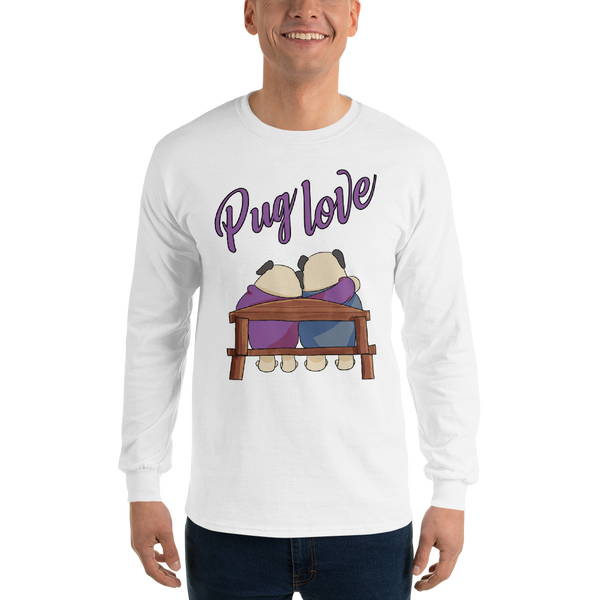 Pug Love10 Gildan 2400 Ultra Cotton Long Sleeve T-Shirt