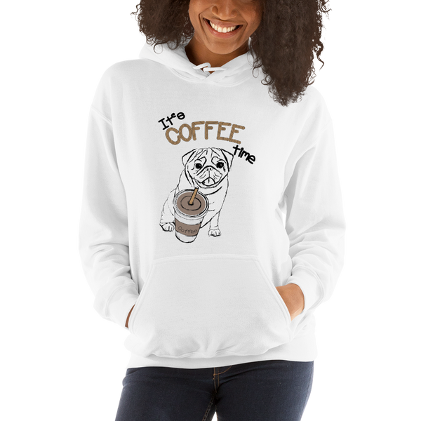 Its Coffee Time058 Hooded Sweatshirt