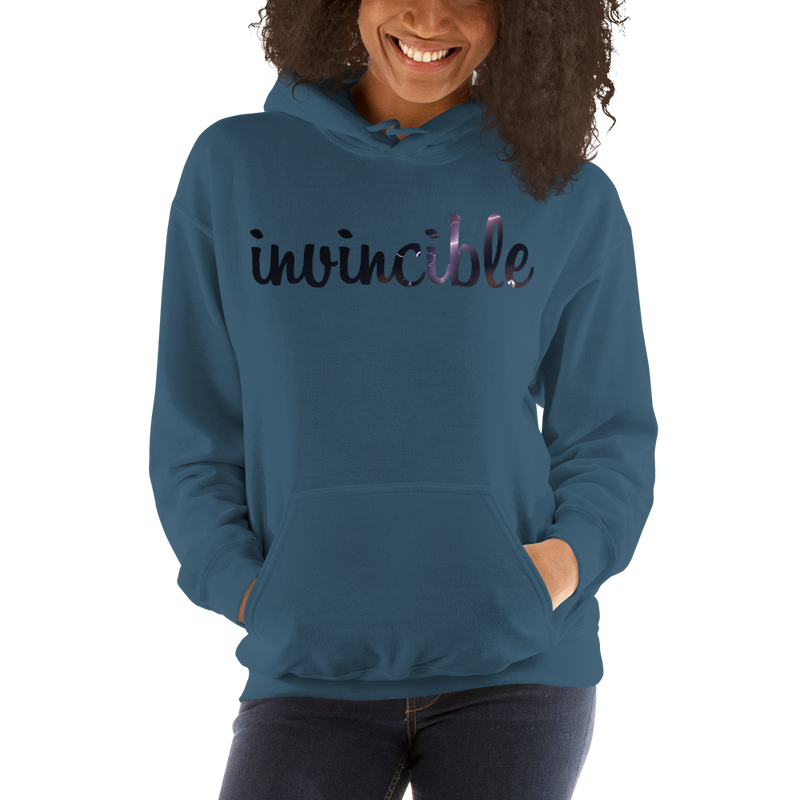 Invincible024 Gildan 18500 Unisex Heavy Blend Hooded Sweatshirt