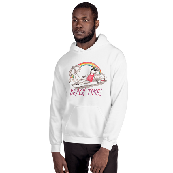 It's Beach Time03 Gildan 18500 Unisex Heavy Blend Hooded Sweatshirt