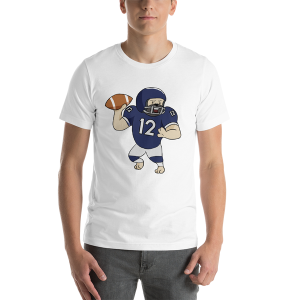 It's Football Time16 Bella + canvas 3001 unisex  Jersey Style