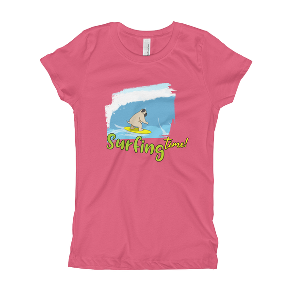 It's surfing time! 02 Girl's T-Shirt