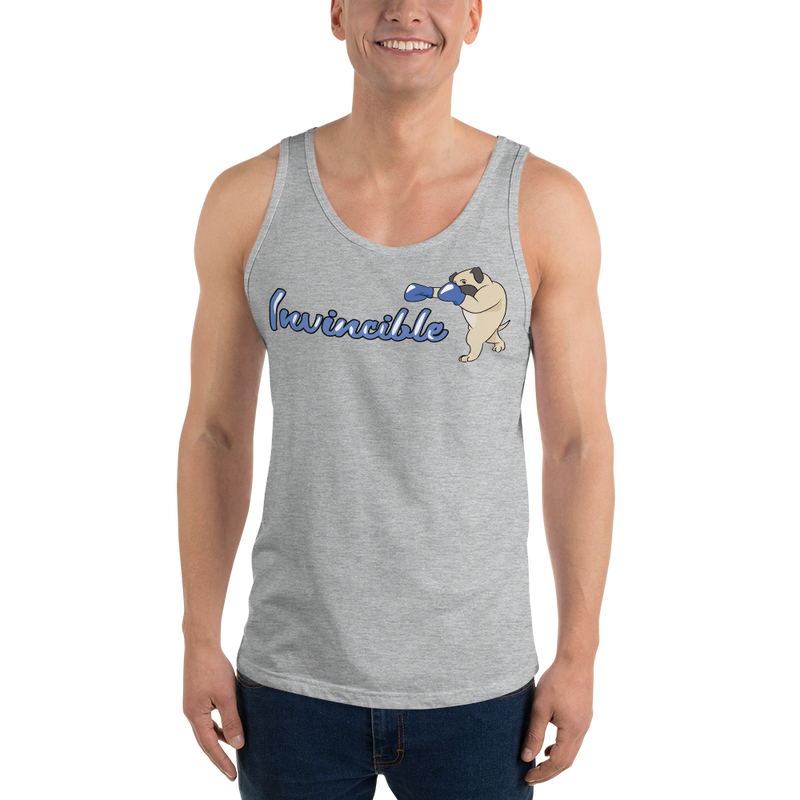 Invincible004 Bella + Canvas 3480 Unisex Jersey Tank with Tear Away Label