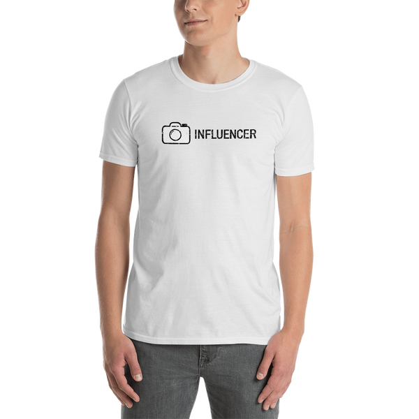 Influencer0150 Gildan 64000 Unisex Softstyle T-Shirt with Tear Away Label