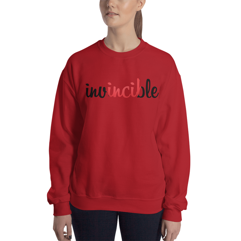 Invincible017 Gildan 18000 Unisex Heavy Blend Crewneck Sweatshirt