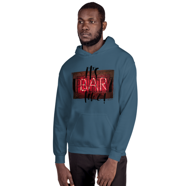 Its Party time09 Gildan 18500 Unisex Heavy Blend Hooded Sweatshirt