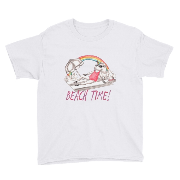 It's Beach Time03 Youth Short Sleeve T-Shirt