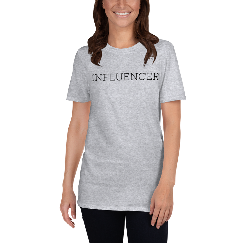 Influencer002 Gildan 64000 Unisex Softstyle T-Shirt with Tear Away Label