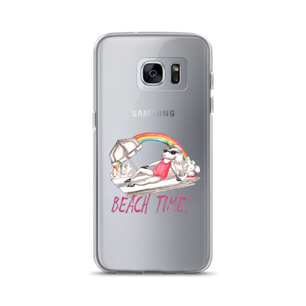 Its Beach Time03 Samsung Case