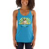 Its Coffee Time010 Next Level 6733 Ladies' Triblend Racerback Tank Triblend Racerback Tank