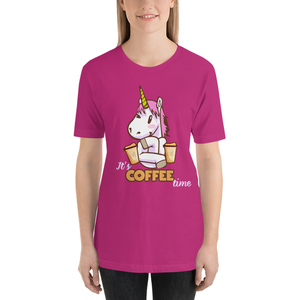Its Coffee Time051 Short-Sleeve Unisex T-Shirt