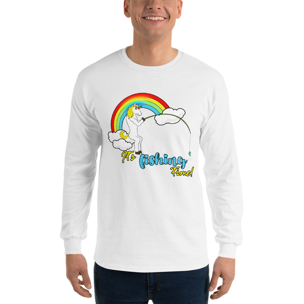 It's Fishing Time01 Gildan 2400 Ultra Cotton Long Sleeve T-Shirt