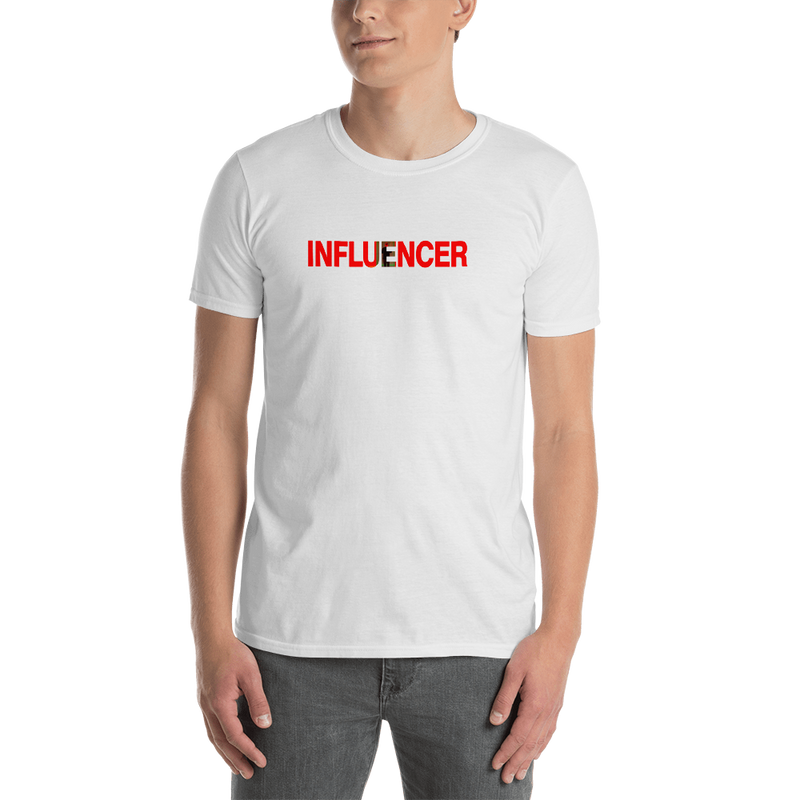 Influencer0148 Gildan 64000 Unisex Softstyle T-Shirt with Tear Away Label