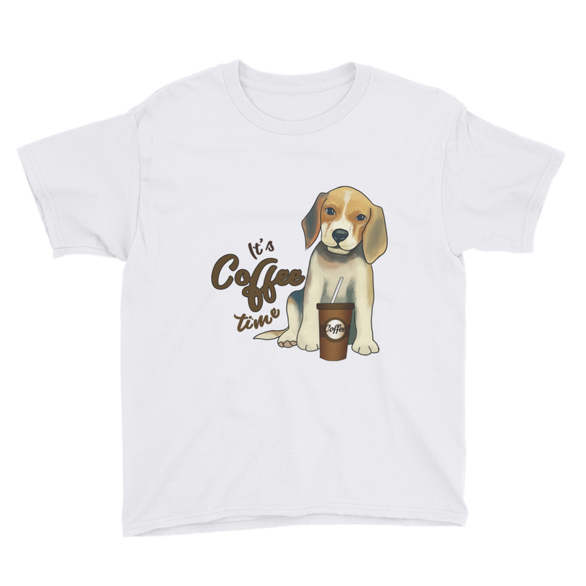Its Coffee Time16 Youth Short Sleeve T-Shirt