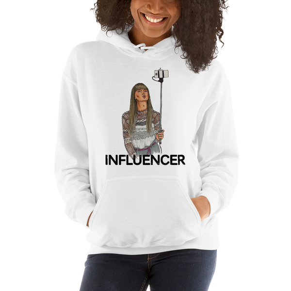 Influencer038 Gildan 18500 Unisex Heavy Blend Hooded Sweatshirt Heavy blend