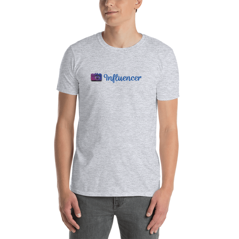 Influencer00105 Gildan 64000 Unisex Softstyle T-Shirt with Tear Away Label