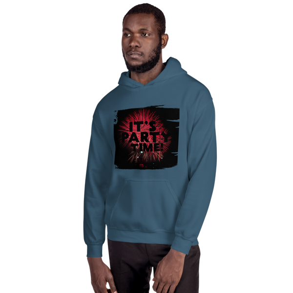 Its Party time10 Gildan 18500 Unisex Heavy Blend Hooded Sweatshirt