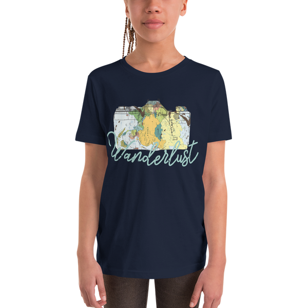 Wanderlust98 Youth Short Sleeve T-Shirt