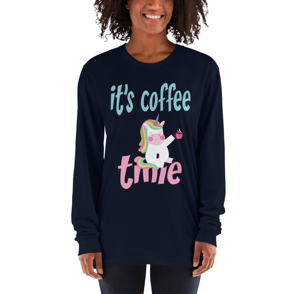 Its Coffee Time027 Long sleeve t-shirt