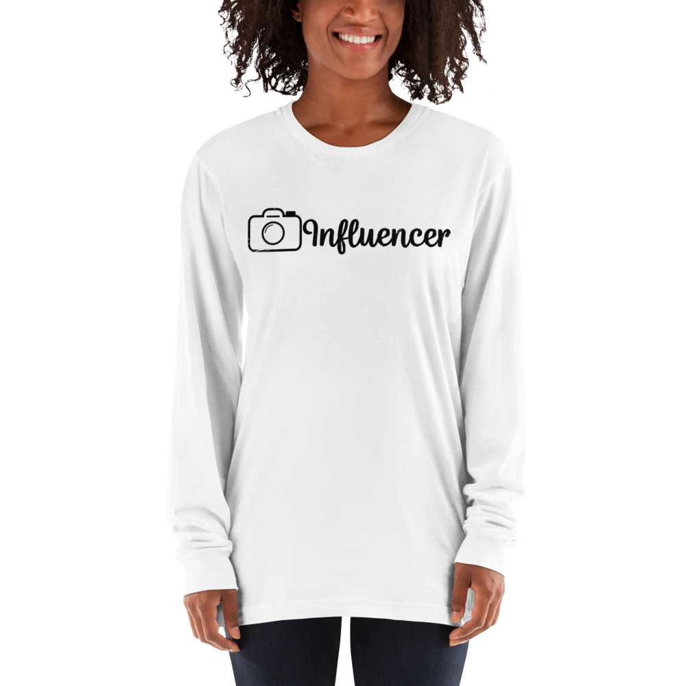 Influencer97 American Apparel 2007 Unisex Fine Jersey Long Sleeve T-Shirt Comfy style