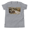 Explore The World008 Bella + Canvas 3001Y Youth Short Sleeve Tee with Tear Away Label