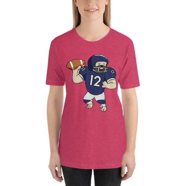 It's football time17 Bella + canvas 3001 unisex Jersey Style