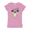 Invincible005 Next Level 3710 Girl's The Princess Tee with Tear Away Label