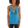 Invincible011 Next Level 6733 Ladies' Triblend Racerback Tank