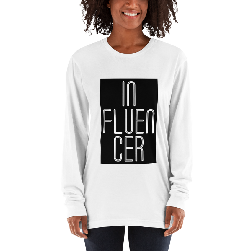 Influencer56 American Apparel 2007 Unisex Fine Jersey Long Sleeve T-Shirt Comfy style
