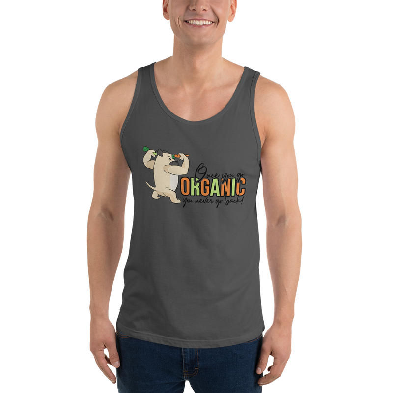 Go Organic005 Bella + Canvas 3480 Unisex Jersey Tank with Tear Away Label