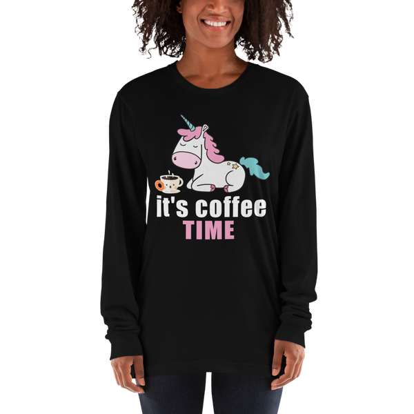 Its Coffee Time019 Long sleeve t-shirt