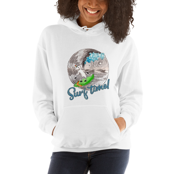 It's Surfing time! Women Hoodies