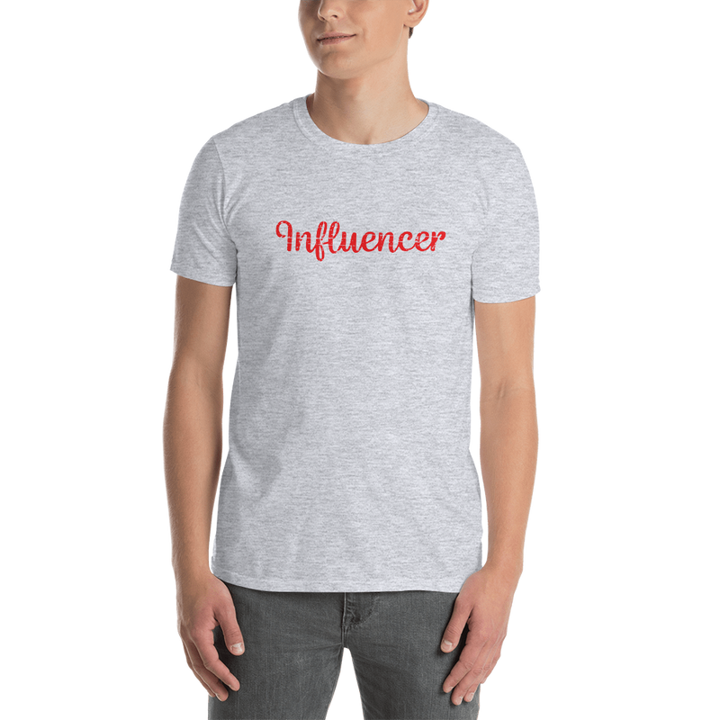 Influencer0180 Gildan 64000 Unisex Softstyle T-Shirt with Tear Away Label