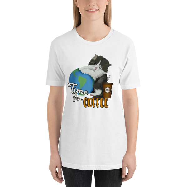 Its Coffee Time050 Short-Sleeve Unisex T-Shirt
