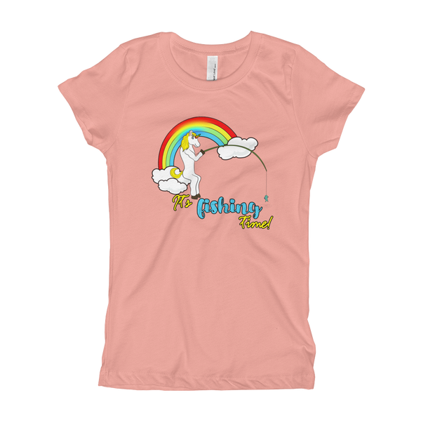 it's fishing time!01 Girl's T-Shirt