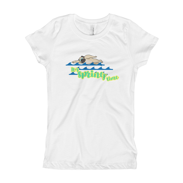 It's Swimming Time01 Girl's T-Shirt