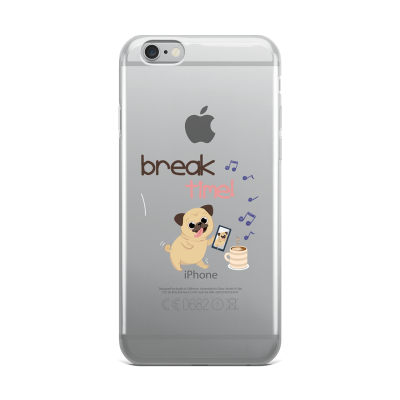 It's Break Time007 iPhone Case