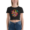 Its Coffee Time008 Bella + Canvas 6681 Women's Crop Tee Tight fit