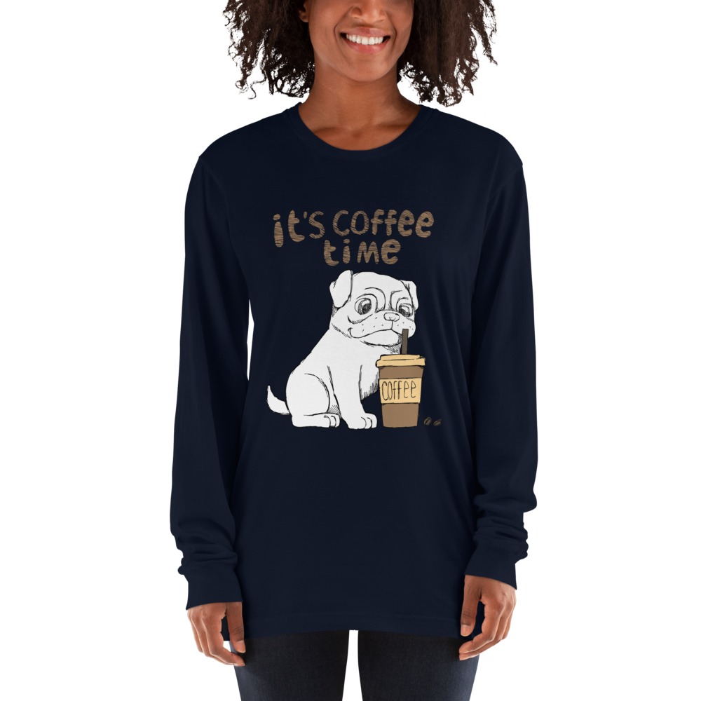 Its Coffee Time054 Long sleeve t-shirt