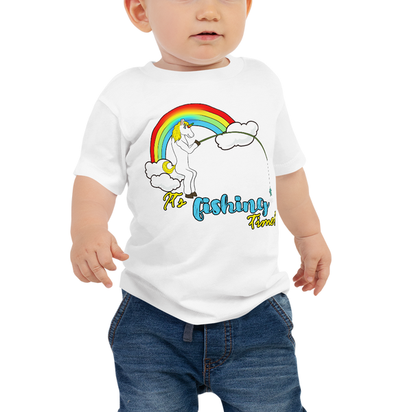 it's fishing time!01 Baby Jersey Short Sleeve Tee