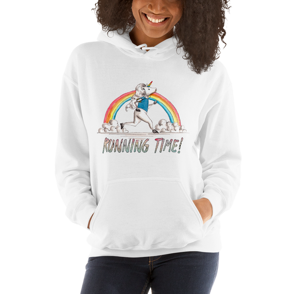 It's Running time! Women Hoodies