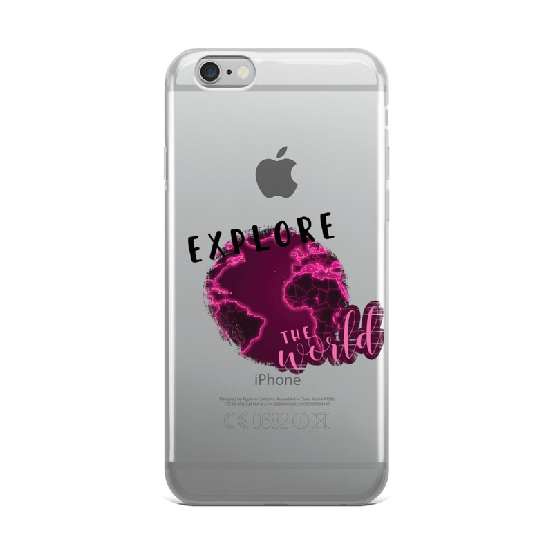 Explore The World0026 iPhone Case