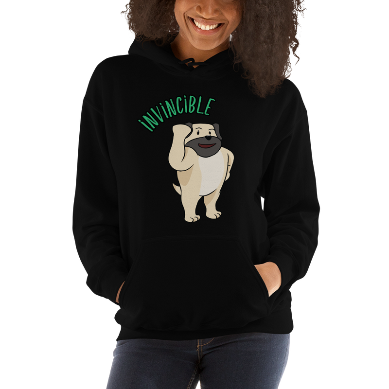 Invincible003 Gildan 18500 Unisex Heavy Blend Hooded Sweatshirt