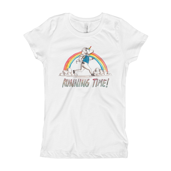 It's running time01 Girl's T-Shirt
