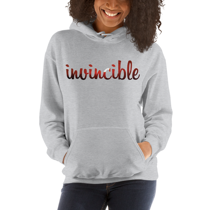 Invincible020 Gildan 18500 Unisex Heavy Blend Hooded Sweatshirt