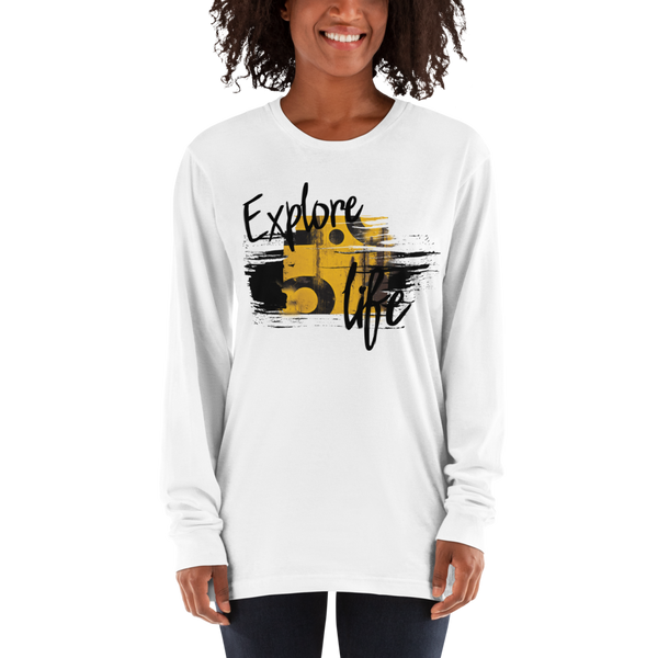 Explore Life004 Long sleeve t-shirt